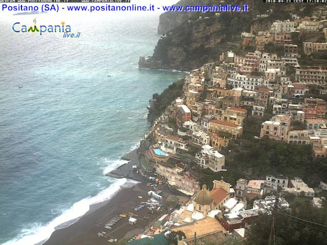 Webcam live Positano (SA) - La Piramide - Ultima immagine ripresa