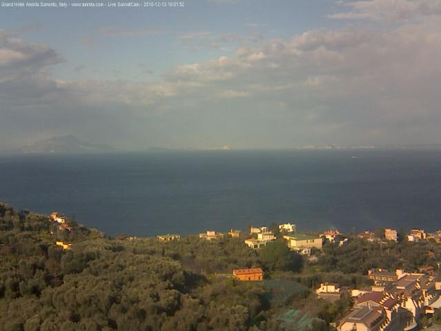 Sorrento & Golfo  live Webcam - Ultima immagine ripresa